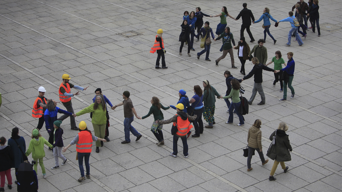 Flow the Way you want to Flashmob in Vienna